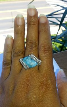 Wire Jewelry Silver Wire Wrapped Ring Oval by LittleSparklesMaui, $30.00