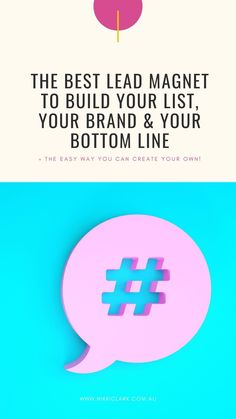 This is my absolute favourite lead magnet that makes list building a breeze.It's my favourite because this one particular piece of content can build your email list, your business, and your brand - all at the same time! Not only that, but it will boost your visibility and your revenue better than any other type of content!
