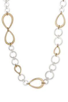 Gold & Silver Chain & Link Necklace | Tricia Link Necklace | Stella & Dot www.stelladot.com/sites/juliaphawkins