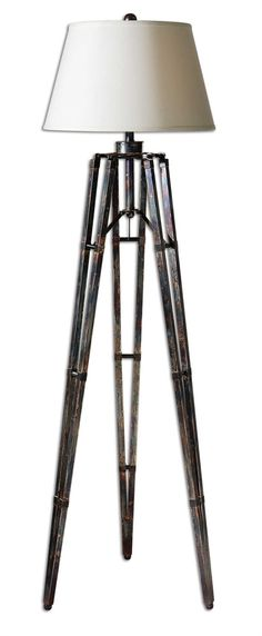 Uttermost Tustin Tripod Floor Lamp