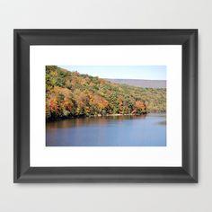 Fall Lake 2 by Sarah Shanely Photography $31.00