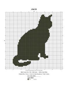 Cross Stitch Cat
