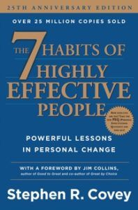 The 7 Habits of Highly Effective People - 25 Edition by Stephen R Covey (Hardcover) Best Motivational Books, Inspirational Quotes, Stephen R Covey, Best Self Help Books, Highly Effective People, Books For Self Improvement, Reading Habits, Ways Of Learning, 7 Habits
