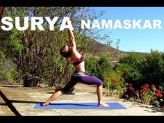 YOGA: Surya Namaskar - tutorial - Saludo al Sol - all levels