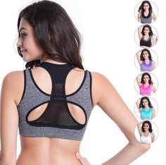 Women Yoga Bra Push Up Sports Bra