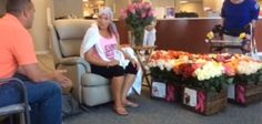 Watch husband surprise wife with 500 roses after last chemo treatment