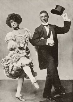 While performing with the group, Aida met her future husband, prominent vaudeville performer George Walker. The Vaudeville Actress Who Refused To Be A Stereotype Women In History, Black History, Cabaret, Divas, George Walker, American Photo, African Diaspora, My Black Is Beautiful, African American History