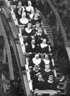 Nuns Having Fun from the 1950s and 1960s (via Cultural Catholic and Mashable/ Retronaut)