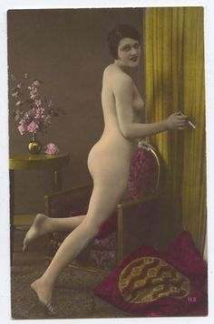 photos Prostitutes postcards nude old