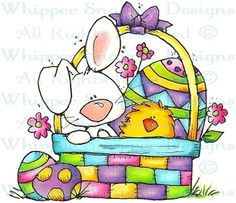 An Easter Delivery - Easter - Holidays - Rubber Stamps - Shop