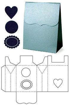 Blitsy: Template Dies- Bag - Lifestyle Template Dies - Sales Ending Mar 05 - Paper - Save up to on craft supplies!: Blitsy: Template Dies- Bag - Lifestyle Template Dies - Sales Ending Mar 05 - Paper - Save up to on craft supplies! Diy Gift Box, Diy Box, Diy Gifts, Gift Boxes, Paper Box Template, Box Templates, Sales Template, Papier Diy, Printable Box