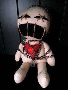 Handmade Voodoo Doll Clive by MoodyVoodies on Etsy, $59.99