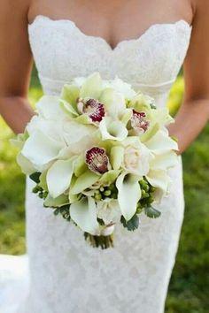 Orquídeas, rosas e copo de leite....