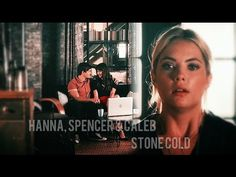 Watch in HD :) I've always loved this song and when season started i immediately thought of Hanna's situation with Spencer & Caleb. Pretty Little Liars Spencer, Watch Pretty Little Liars, Caleb And Spencer, Love Songs, Cold, Stone, Youtube, Rock, Stones