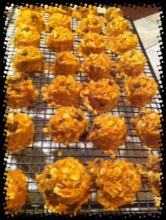 Life in the Juice Lane: Great Balls of .... Energy -- Peanut Butter Chewies using carrot pulp from juicing