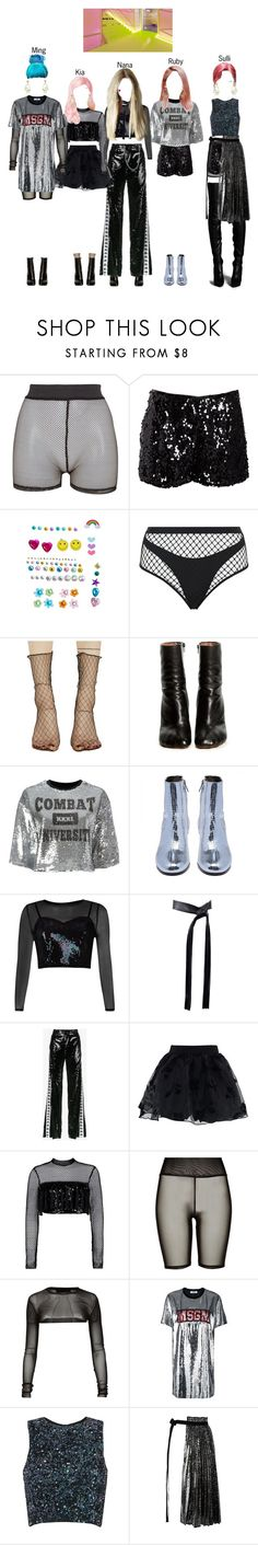 """BABY (아기) — 'Incredibly Strange Creatures' MV"" by officialbaby ❤ liked on Polyvore featuring Bitching & Junkfood, Halston Heritage, Wicked Hippie, Agent Provocateur, Ana Accessories, Vetements, MSGM, River Island, Michael Kors and Faith Connexion"