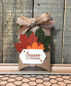 Gather Together Pillow Box