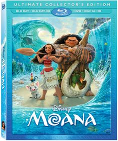 """Set Your Sails """"Moana"""" Is Coming To DVD, Blu-ray And On-Demand!"""