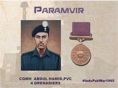 CQMH Abdul Hamid hero of #IndoPakWar1965 was awarded the Paramvir Chakra for his Bravery & http://Valourpic.twitter.com/k7kzvVjPKM #IndianArmy #Army