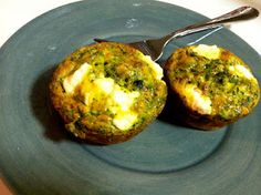 Broccoli Cheese Frittata Muffins- healthy Shavuot recipe