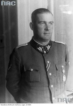 Odilo Lotario Globocnik (21 April 1904 – 31 May 1945) was a prominent Austrian Nazi and later an SS leader. As associate of Adolf Eichmann, he had a leading role in Operation Reinhard, which saw a murder of over one million mostly Polish Jews during the Holocaust in Nazi concentration camps Majdanek, Treblinka, Sobibor, and Belzec. Committed suicide following capture by a British Armoured Cavalry unit,