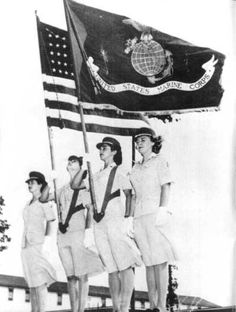 US Marine Corps Womens Reserve, summer 1944 ~