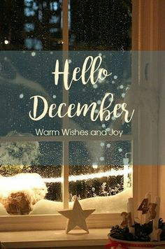 Warm, Wishes And Joy Hello December Quote December Wishes, Welcome November, Welcome December Images, Hello December Tumblr, Hello October, Hello December Pictures, December Wallpaper Iphone, Hallo Winter, Silvester Diy