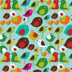 ecojot birds pattern