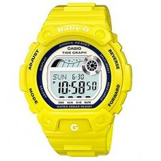 Available in Just @ $125.80 Browse Casio G-Shock watches for men & women at Direct bargains leading  online shopping store in Australia, Buy Casio Baby-G Yellow Digital Alarm Watch Model - BLX-101-9DR with best deals, offer, Your shaving $118.71. Shipping $8.00