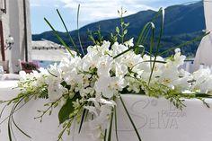 addobbi con orchidee matrimonio Hotel San Rocco