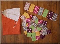 Domino en tissu par Izabel - thread&needles