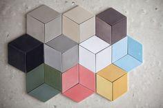 Rumble in the rhombus: TEX Tile weave inspired ceramic tiles - COVER Magazine: Carpets & Textiles For Modern Interiors Mosaic Tiles, Wall Tiles, Tiling, Splashback Tiles, Cement Tiles, Tile Patterns, Textures Patterns, Vitromosaico Ideas, Tile Covers