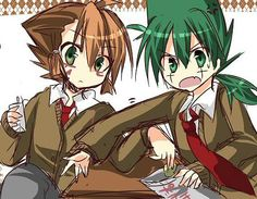 Oh my gosh!!!! Little Nile and little Kyoya are so stinkin' adorable!!!!