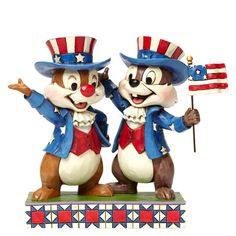 Find Americana and Patriotic themed artist-designed gifts at eGift Studio by Enesco. Shop Americana and Patriotic themed gifts from Jim Shore, Disney Traditions, Lolita, Our Name is Mud, and more. Disney Dream, Disney Love, Disney Magic, Disney Stuff, Walt Disney, Disney Pixar, Chip Und Dale, Jim Shore Disney, Disney Figurines