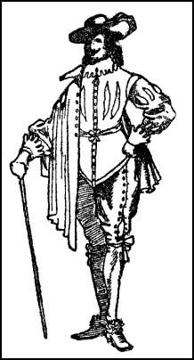 Jacobean Costume - Man Cavalier Dress
