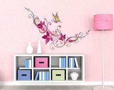 Wandsticker Filigrane Blüten