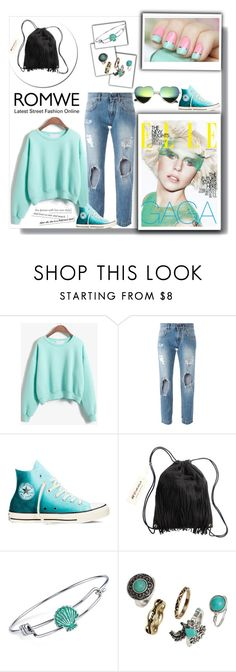 """""""Romwee contest!"""" by merima-gutic ❤ liked on Polyvore featuring Dolce&Gabbana, Converse, H&M and Disney"""
