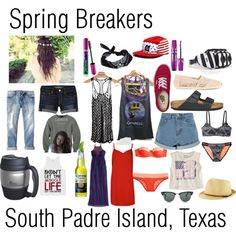 """""""Spring Breakers"""" by bthschlsnr94 on Polyvore"""