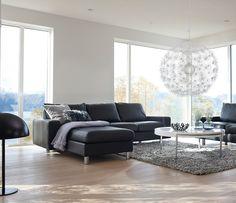 Stressless Couch   Stressless E200 recliner sofa range - Wharfside Furniture
