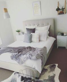 Instagram Bea Sass Cowhide Rug Bedroom Home Decor Bedroom Decor