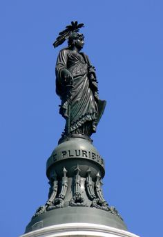 Thomas Crawford's Statue of Freedom (Freedom Triumphant in War and Peace), U.S. Capitol, Washington, D.C.