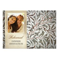 Photo Wedding Rehearsal Dinner rehearsal dinner invitations with photo
