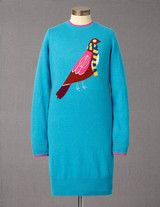 Pretty bird dress  #boden #magicalmenagerie