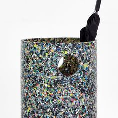 The Confetti range by Sarah Gibson & Nicholas Karlovasitis celebrates the beauty and uniqueness of recycled plastic. Recycled Plastic Furniture, The A Team, Room Accessories, Design Quotes, Different Patterns, Confetti, Recycling, How To Apply, Bedroom Accessories