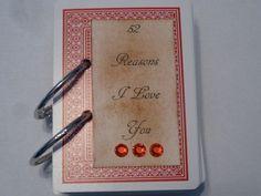 Valentine's Day Gift 52 Reasons I Love You  $15.95, via Etsy.