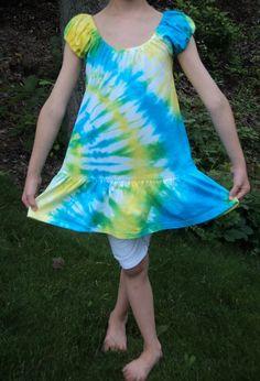 Only $24.00!  Tie Dye Dress