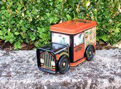 Vintage Englische Teedose Metallbox Lagerung by Vintage4Friends