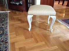 Autentico chalk paint sand with Corfu white dry brushing
