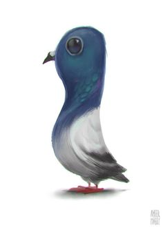 Pigeon concept for FREEJ season 6. Lammtara Art Production EST. all rights reserved