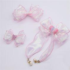 Diy Wrapping Flowers, Diy Flowers, Diy Hair Scrunchies, Diy Hair Bows, Kawaii Hairstyles, Diy Hairstyles, Toddler Activity Board, Cheap Ribbon, Hair Arrange